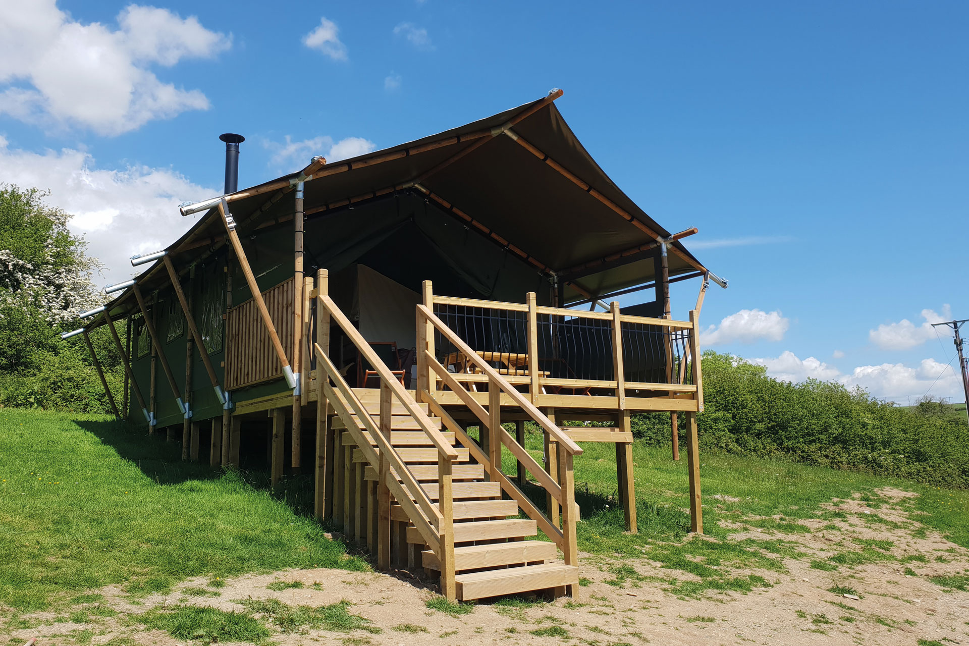 glamping Ugborough Eco Pod